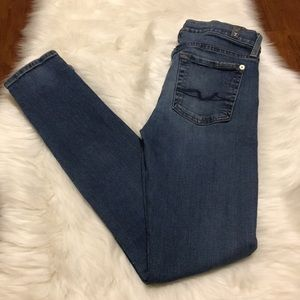 7 For All Mankind The Skinny Jeans 27